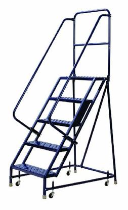 Louisville Ladder GSW1605 Rolling Warehouse Ladder with 16-I