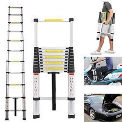 Heavy Duty Aluminum Telescoping Ladder Professional Building