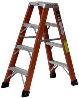 Michigan Ladder Heavy Duty 4 ft Fiberglass Step Ladder with