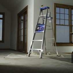 Werner 376 6' Step Ladder - 370 Series Aluminum