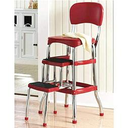 Incredible Cosco Retro Counter Chair Step Stool Laddersguide Inzonedesignstudio Interior Chair Design Inzonedesignstudiocom