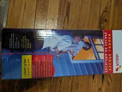 Kidde KL-2S Two-Story Fire Escape Ladder W/ Anti-Slip Rungs