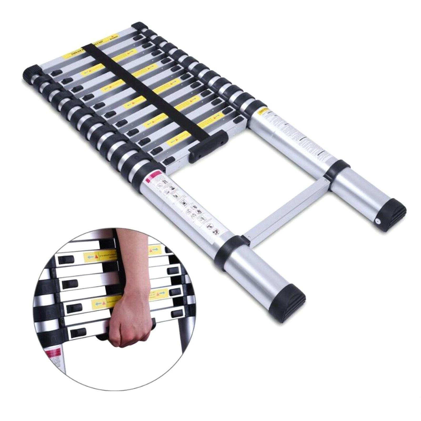 10 5ft aluminum multi purpose telescopic ladder