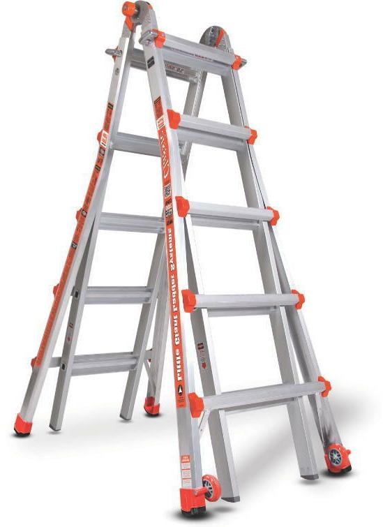 Little Giant 10103LG Model 22 Type 1A 19-Foot Boxed Ladder