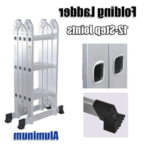 12.5 ft Aluminum Purpose Extension Ladders Supplie
