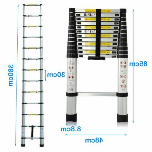 12.5FT Multi-Purpose Ladder Extension Foldable