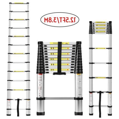12 5ft aluminium ladders telescoping multi purpose