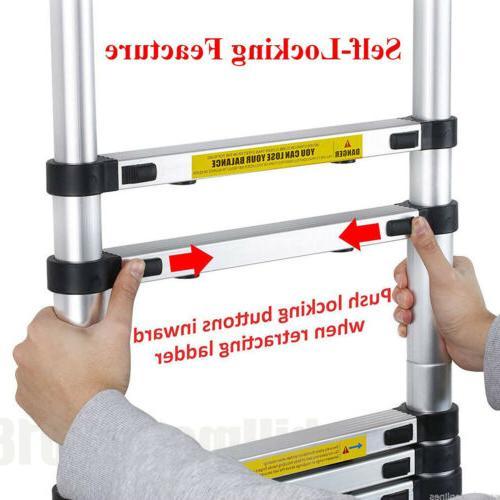 12.5Ft Folding Step Multi-Use Ladder 3.8M