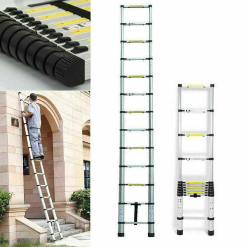 12.5Ft Telescopic Extension Folding Step Multi-Use Non-Slip Ladder