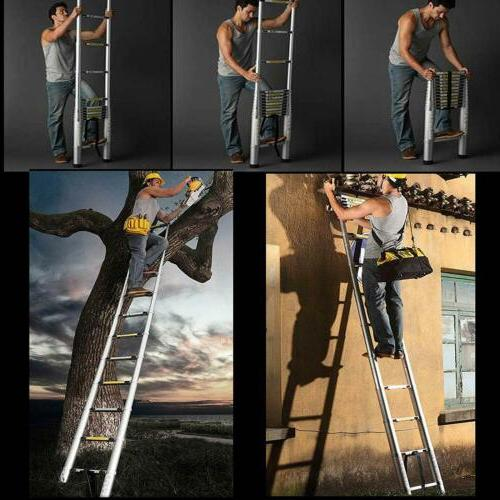 Telescoping Extension Ladder Aluminum Folding Portable All Variable