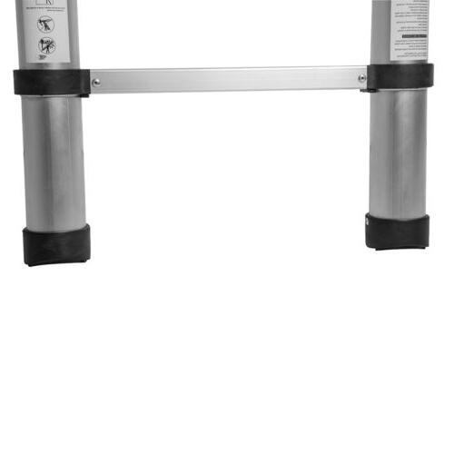 12.5FT Step Ladder Extension Telescoping Lightweight Telescopic