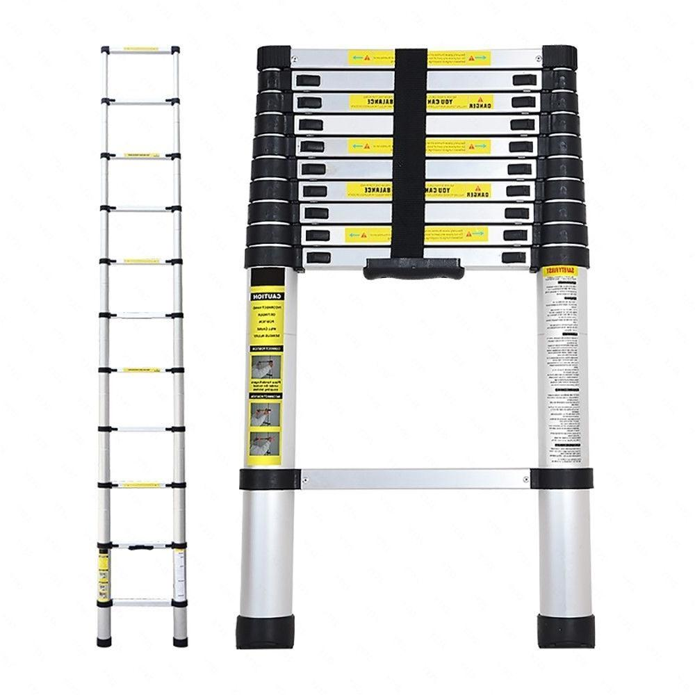 12.5FT Ladder Telescoping Telescopic