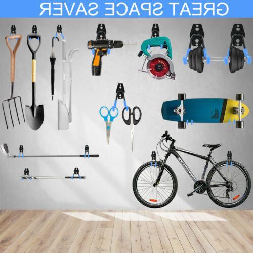 12 Pack Hooks Steel Hangers for Ladders, Bikes