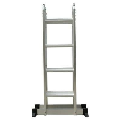 15 5ft aluminum multi purpose telescopic ladder