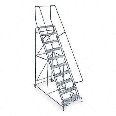 1509r2632a1e20b4c1p6 9 step rolling ladder expanded metal