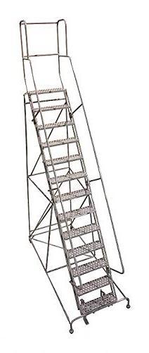 Cotterman 1513R2642A6E10B9AC1P3 - Rolling Ladder Steel 172In