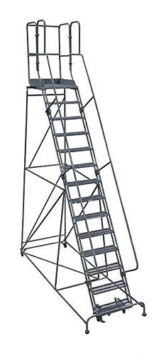 Cotterman 1514R2642A6E30B9AC1P3 - Rolling Ladder Steel 182In