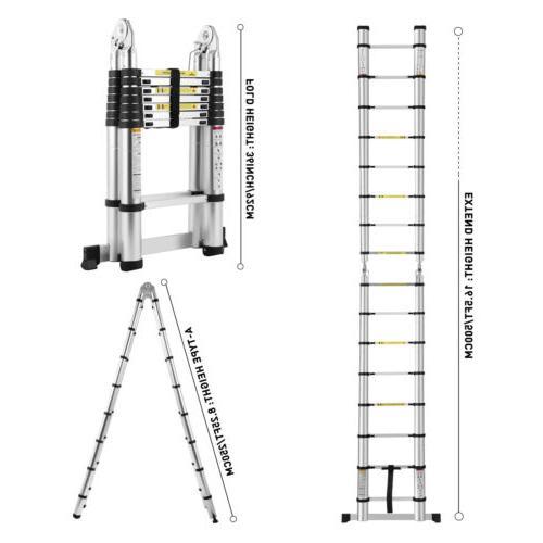 16.5FT Ladders Multi-Purpose Extension Ladder