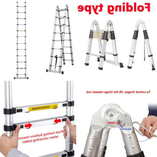 Aluminum Folding Ladder Scaffold Heavy
