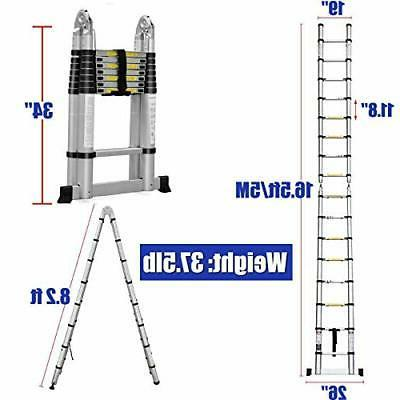 16.5FT Telescoping Folding