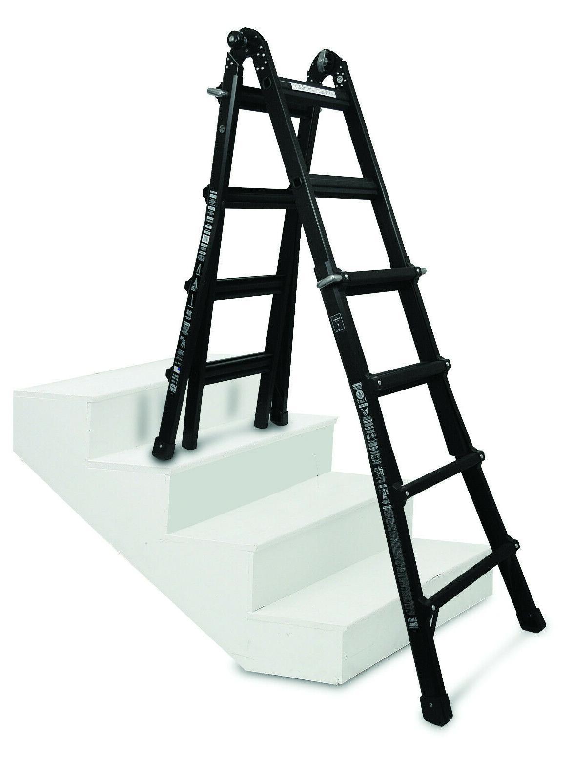 Passenger Van Ladder - Little Giant  17' reach Folding Exten