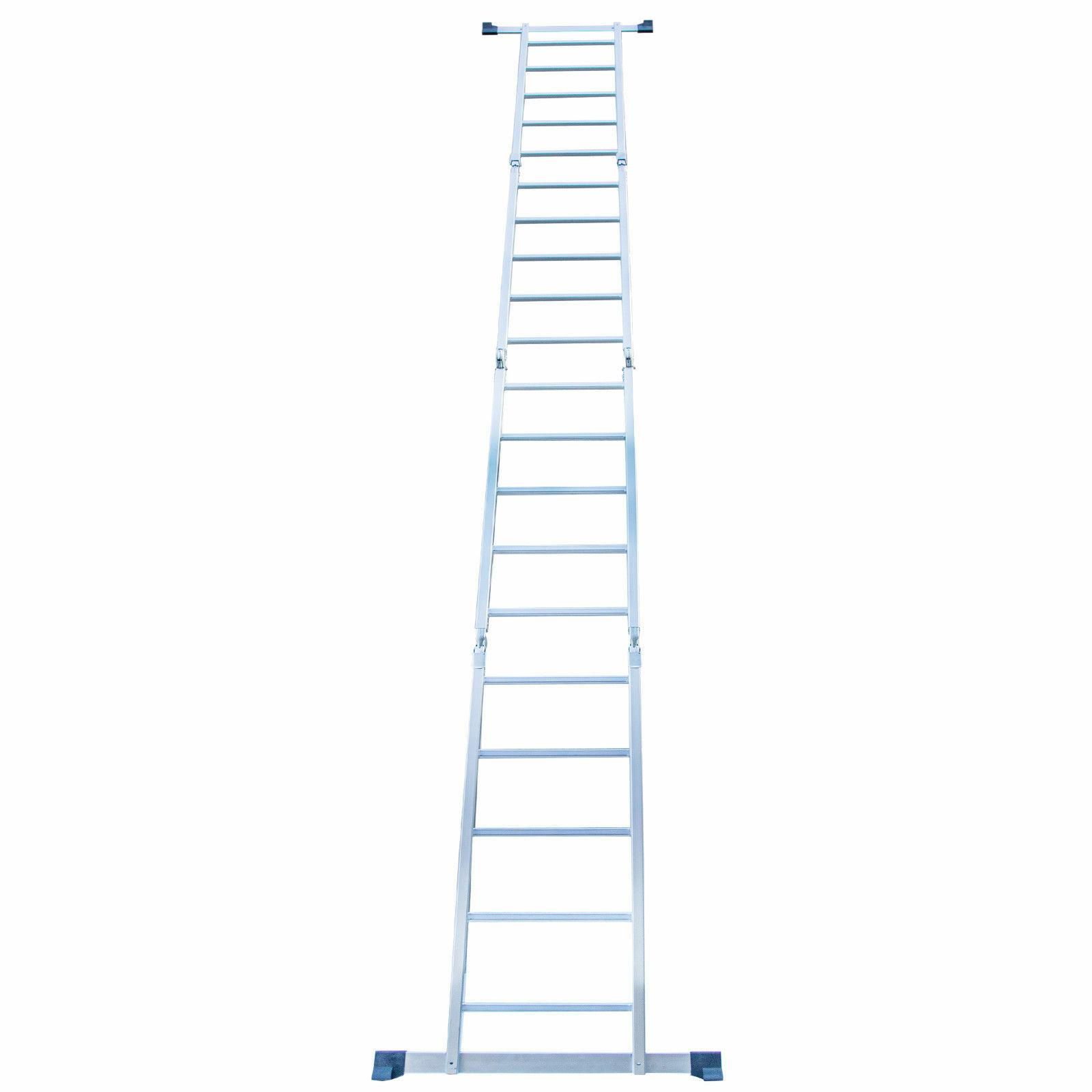 19.5FT Extension Multi Purpose Ladder Folding Multi-Function
