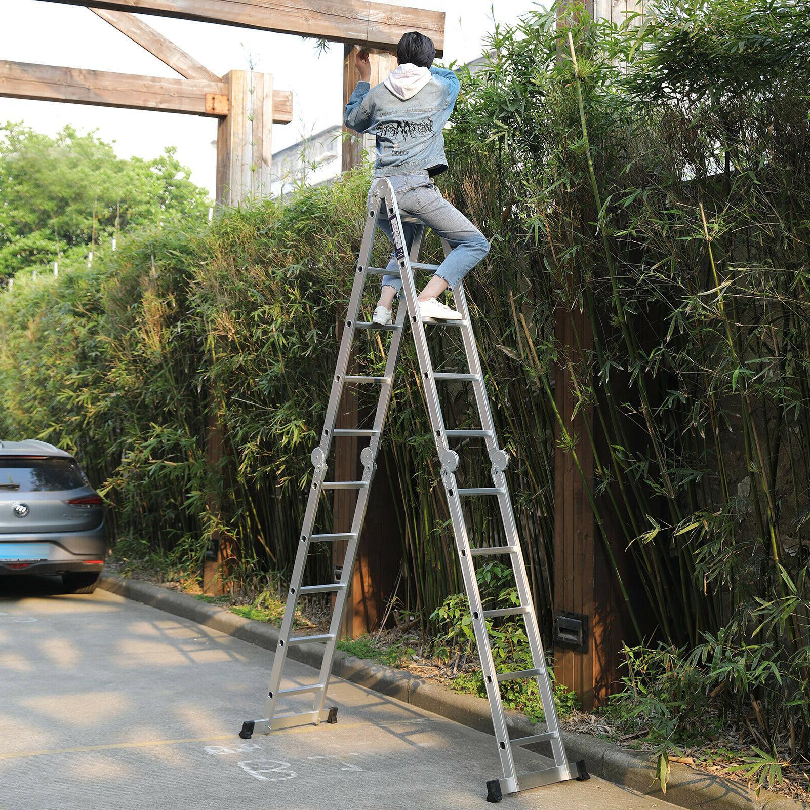 19.5FT Multi Folding Ladder Multi