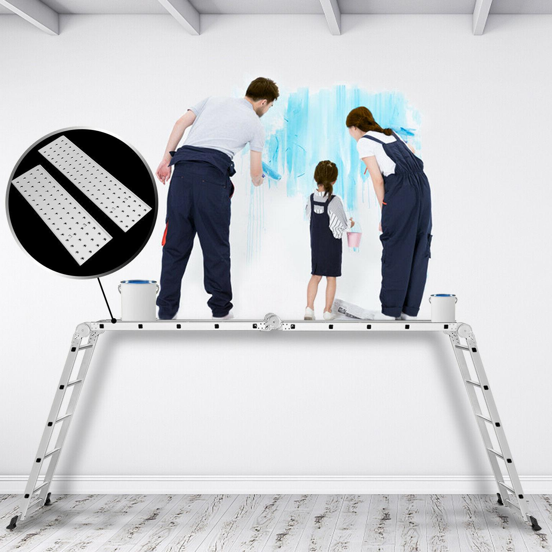19.5FT Multi Folding Aluminum Step