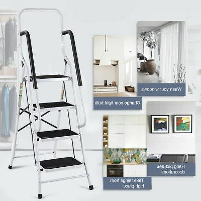 2 In 1 4 Step Ladder Stool Load Capacity