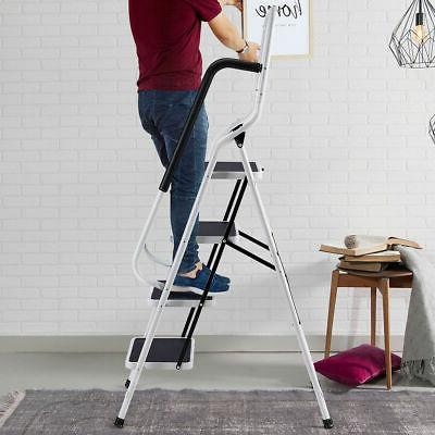 2 In 4 Stool Handrails 330Lbs Load Capacity