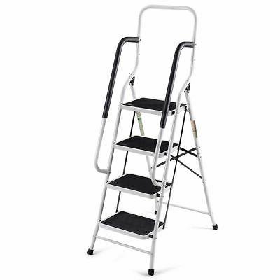 2 In 1 4 Ladder Stool w/ Load