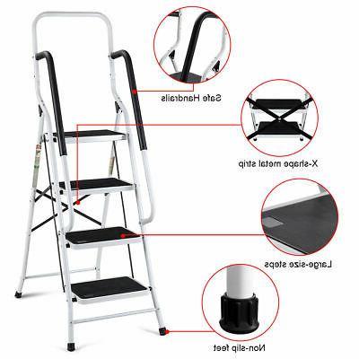 2 1 4 Ladder Stool w/ Load Capacity