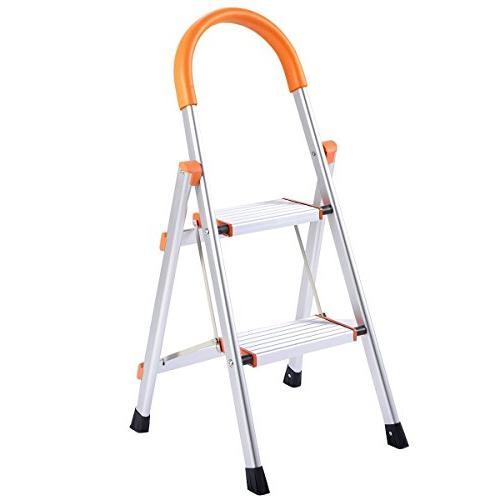 2 ladder folding stepladder rating