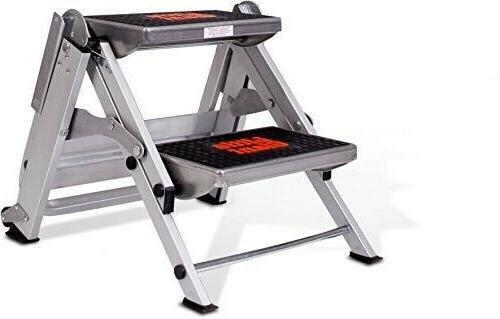 Little 2-Step 300 lbs. Capacity Aluminum Step Stool