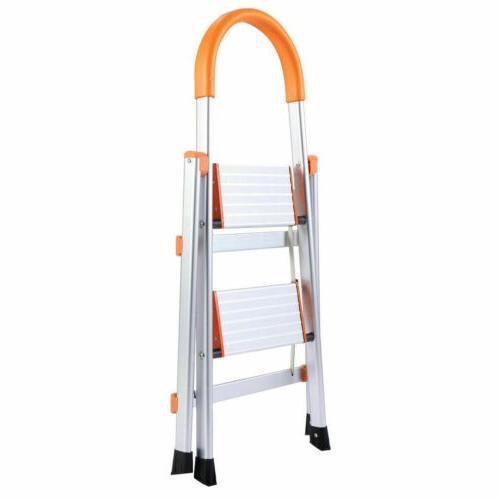 2 Folding Home Ladder Step Stool Stepladders