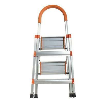 2 step ladder heavy duty folding stepladder