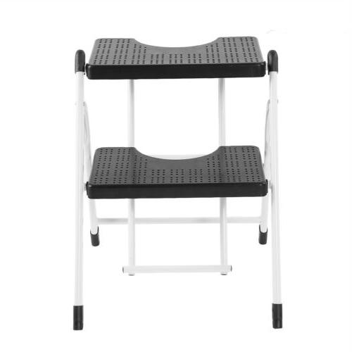 2 Step Ladder Big Platform Stool With Capacity