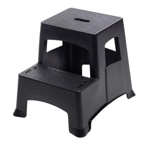 Gorilla Ladders 2-Step Plastic Project Stool Ladder 325 lbs.