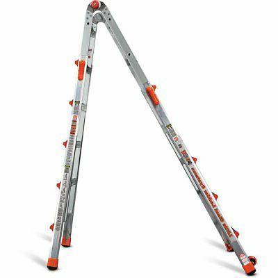 22 Foot Aluminum Position Ladder