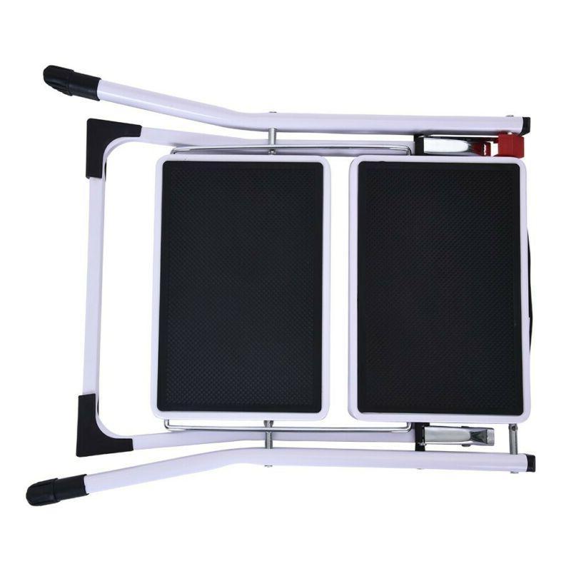 Portable Folding Ladder Pedal