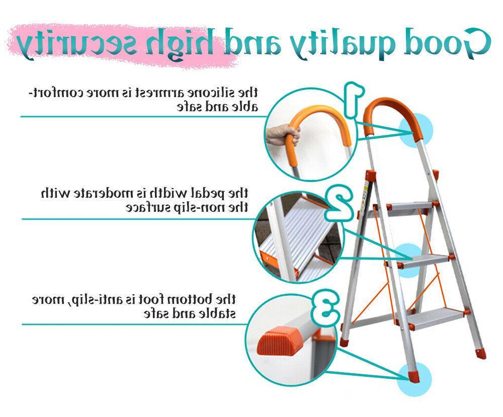 3/4/5 Ladder Duty Stool Non-slip