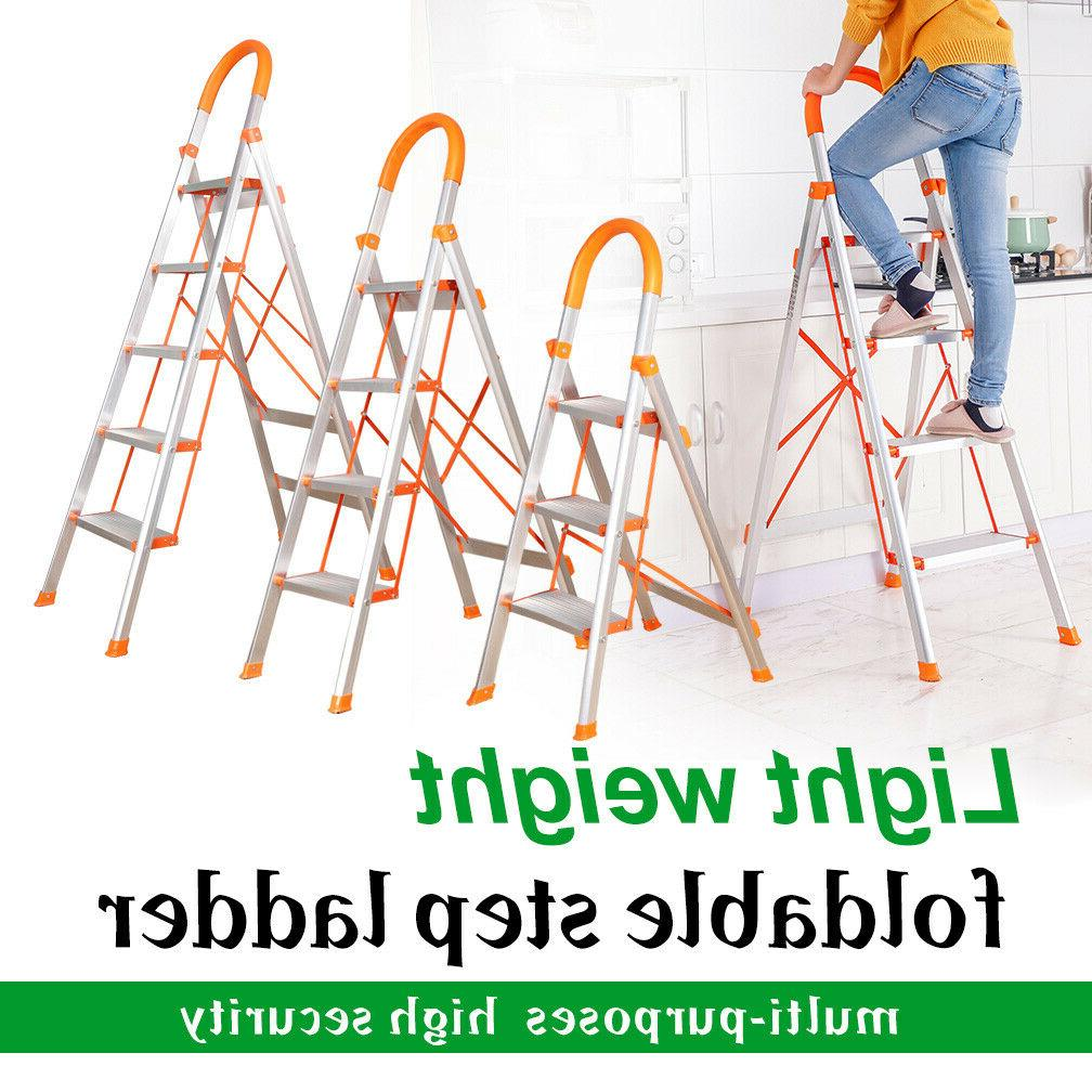 3/4/5 Ladder Duty Stool Non-slip Aluminum