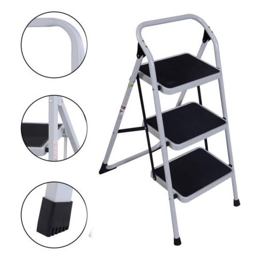 Peachy Step Ladder Ladders Laddersguide Biz Machost Co Dining Chair Design Ideas Machostcouk