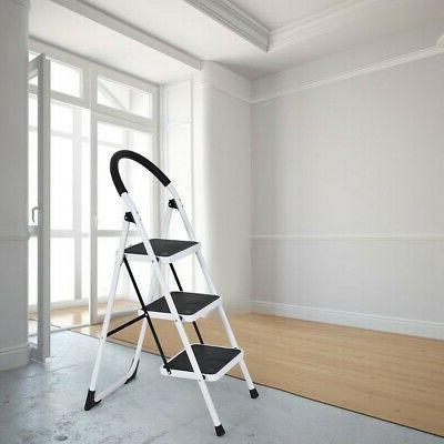 anti slip 2 3 steps ladder folding