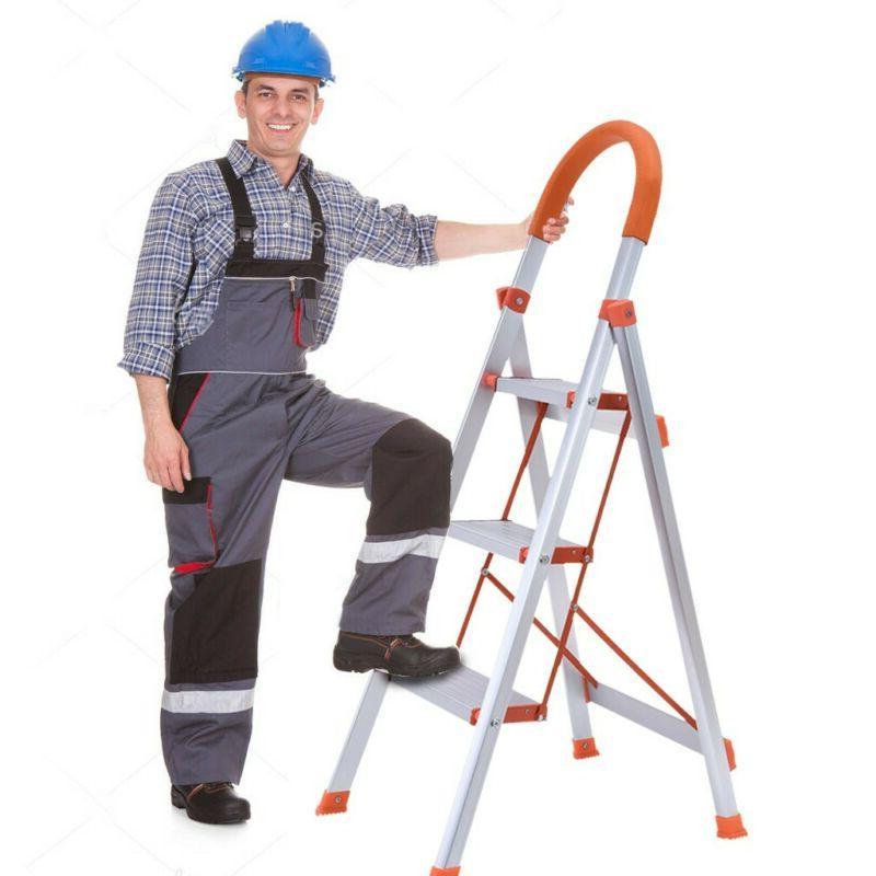 Ladder Aluminum Step Stool Industrial