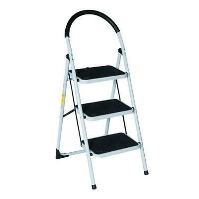 3 Step Ladder Folding Anti-Slip Load