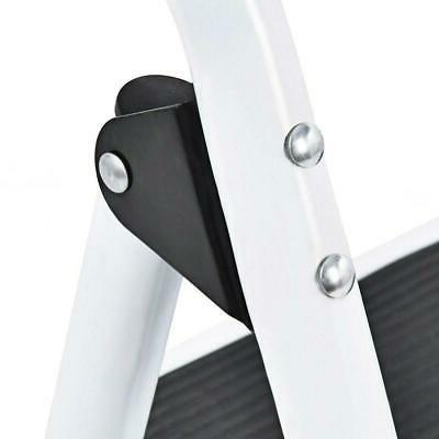 Folding Step Stool with Anti-Slip Pedal Load