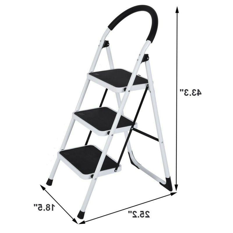 2/3 Step Stool Ladder W/