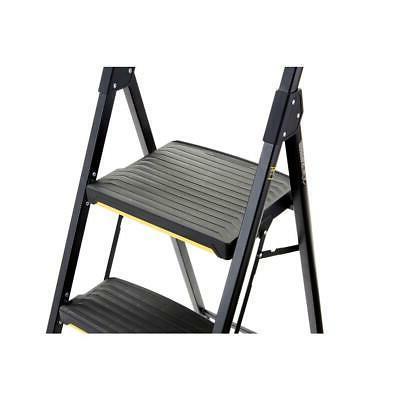 Gorilla Ladders 3 Stool Pro Grade Black