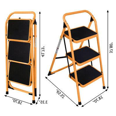 Ladder Stool Safety Kitchen Use 330lb